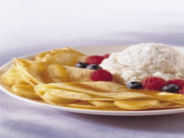 crepe and blintz