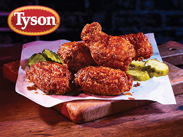 tyson nashville hot bone in wings