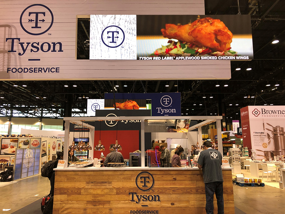 National Restaurant Association NRA Booth 2019 Tyson