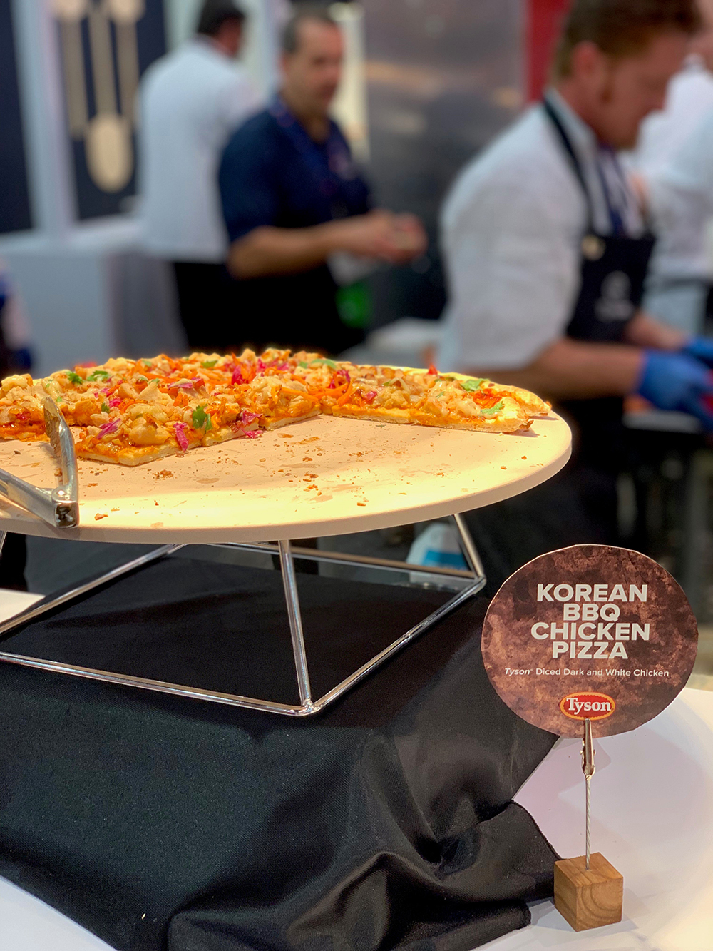 Pizza Exop 2019 Tyson Foodservice Korean BBQ Chicken Pizza